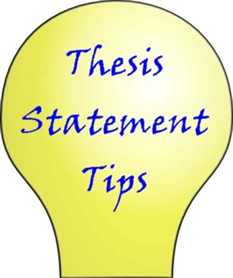 Thesis - Examples and Definition of Thesis